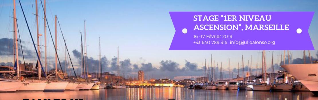 Marseille 16-17 Février – Stage 1er Niveau Ascendant