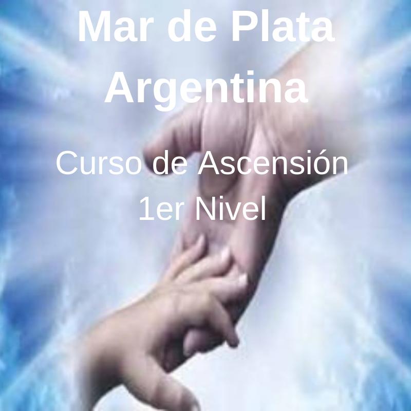 Julio Alonso en Mar de Plata en Marzo 2019 – Curso 1er Nivel de Ascensión